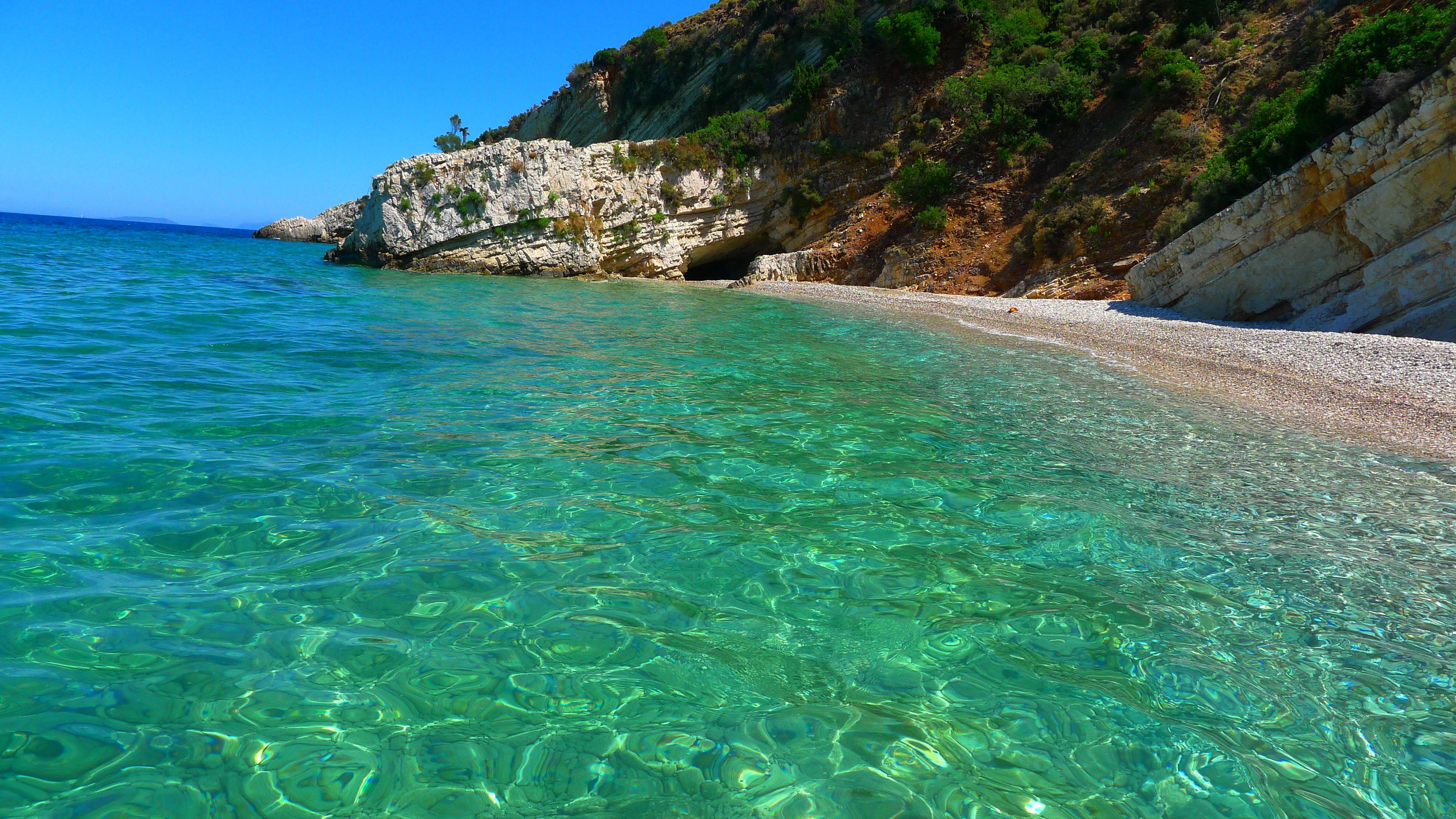 Greek Island Beaches: Greek Islands- Ithaca
