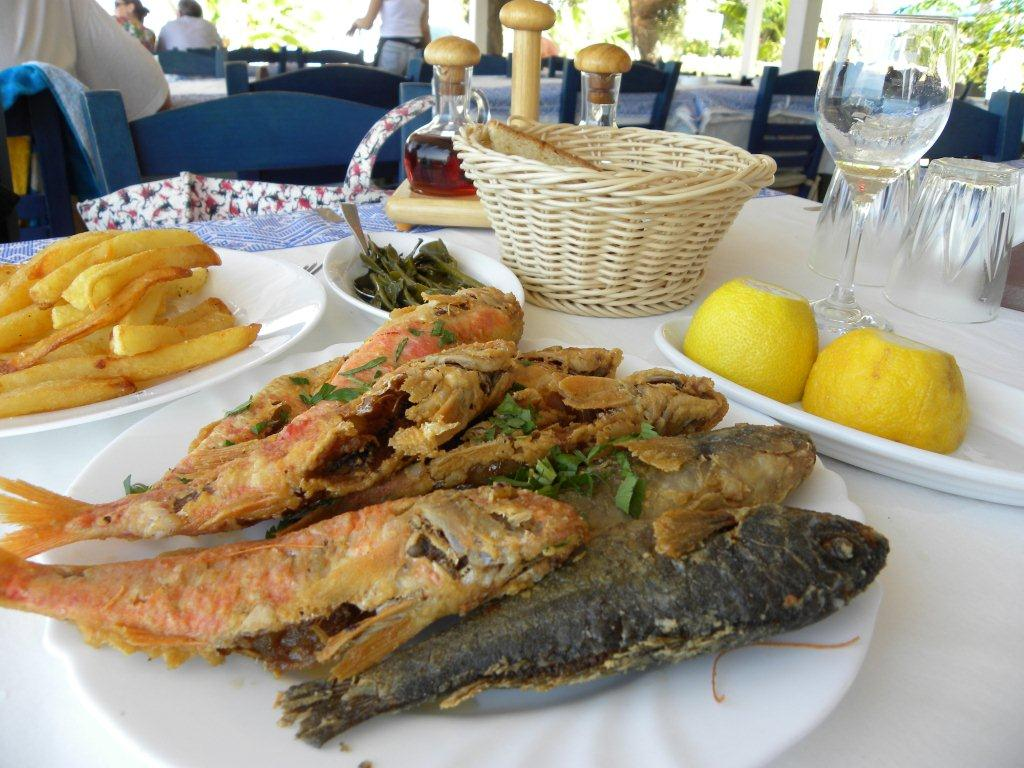 Pomos latsi poli and their surroundings cypriot and proud for Best fish food