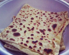 Sugar and Cinnamon Cypriot Crepe (Kattimerka)