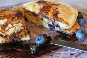 pancake eating