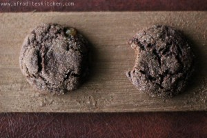 ginger snaps recipe afrodite's kitchen