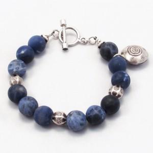 Sodalite Bell Bracelet