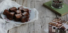 Carob Chocolate Brownies