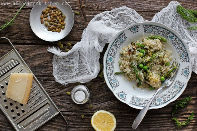 Cyprus Springtime Risotto | cypriot and proud