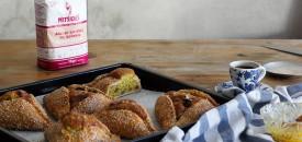 Modern Flaounes (Cyprus Easter Bread)