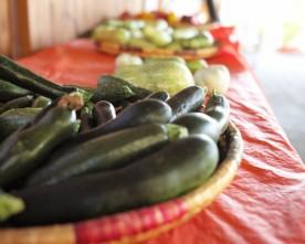 Home-grown organic food market in Limassol