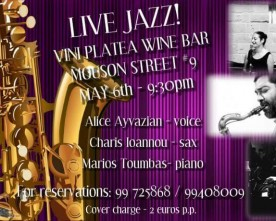 A Jazz night to remember at Vini Platea