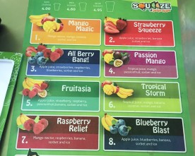 Squeeze Juice Bars
