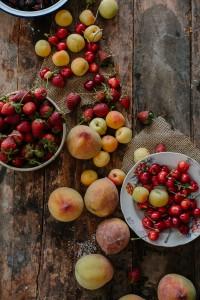 Peach Crumble Afrodite's Kitchen