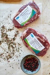 Rib Eye Steak Peppercorn Sauce Foodsaver Stores--14
