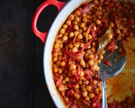 "Chili Chickpeas (""Spicy Revithkia"")"