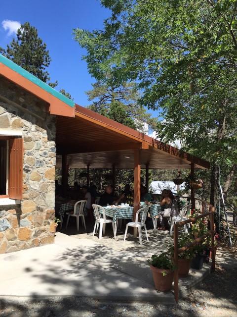 Troodos restaurant Cyprus