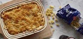 Lobster Macaroni & Cheese with Anari and an Arkatena Crust