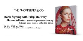 Book signing with Filep Motwary