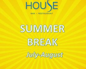 House is on a break until September