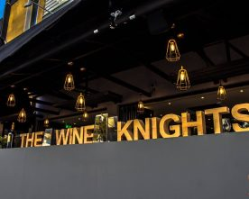 The Wine Knights to the rescue