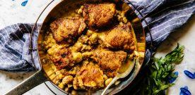 Chicken Thighs In Mustard Sauce