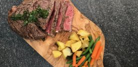 Steaks on BBQ with Foodsaver Stores