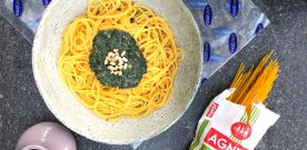 Gluten-free Pasta with Superfood Pesto with Foodsaver Stores