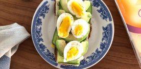 Avocado Sandwich 2-ways