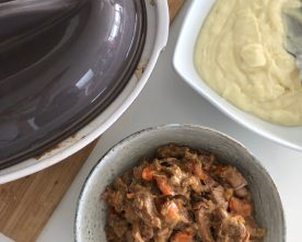 Pork Stew with Foodsaver Stores
